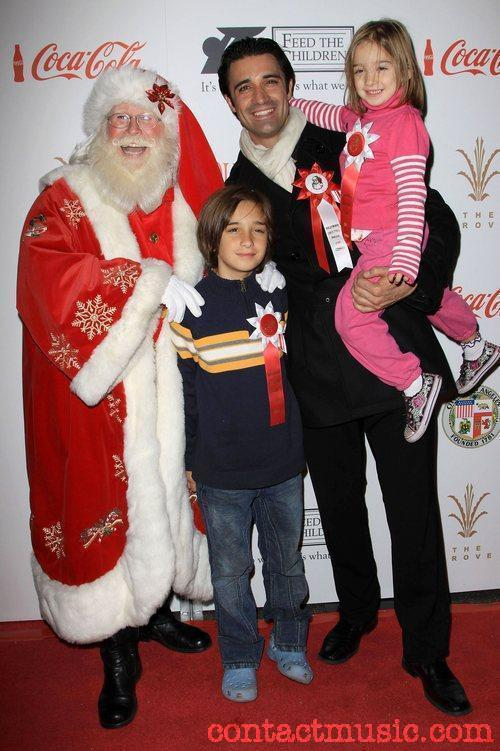 Santa with gillesmarini georges Juliana