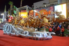 Hollywood Santa Float