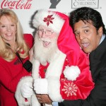 With Laura McKenzie and Erik Estrada arriving for the 2009 Hollywood Christmas Parade at The Roosevelt Hotel on November 29, 2009 in Hollywood, California.